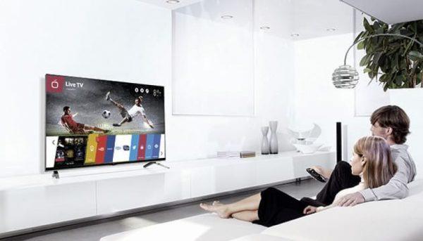 Уникальный смарт-ТВ на московском складе